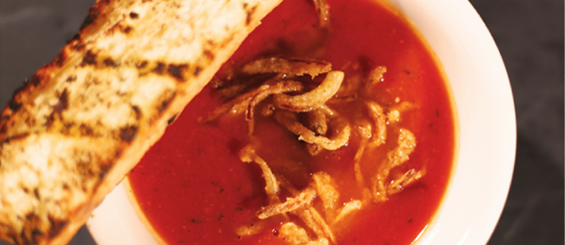 Meniul Red Angus Steakhouse: Hearty Tomato Soup