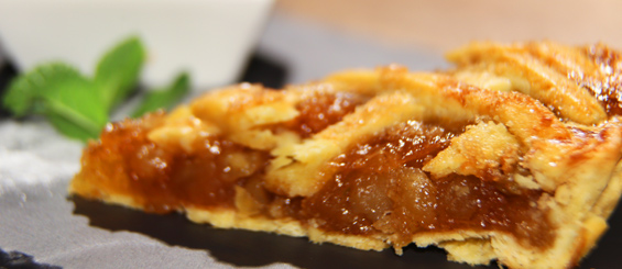 Red Angus menu: Traditional Apple Pie