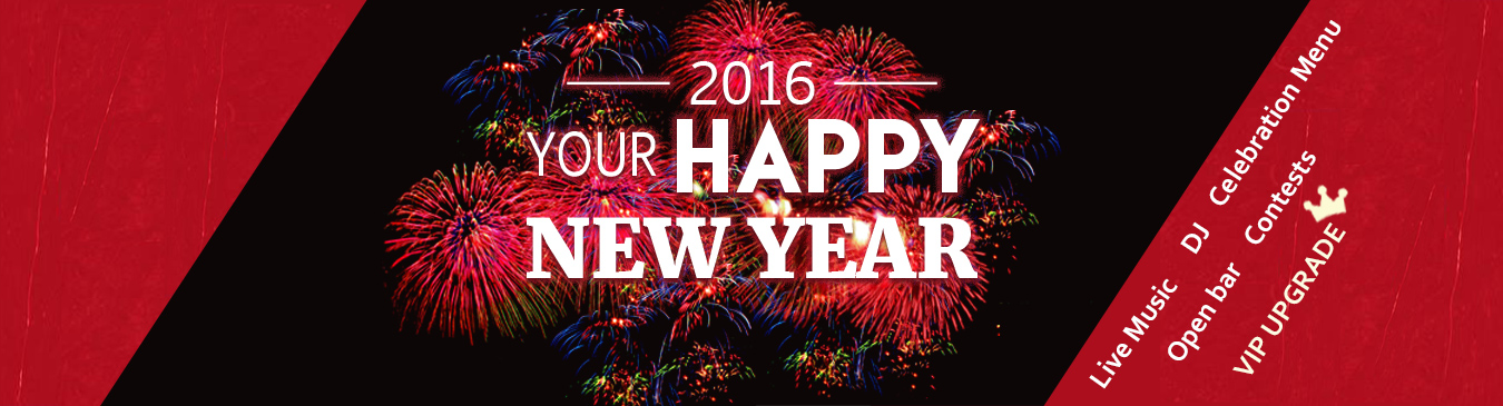 Your Happy New Year starts at Red Angus Steakhouse 2016